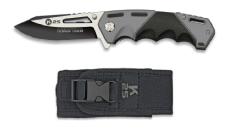 K25 Black Rogue Folding Knife